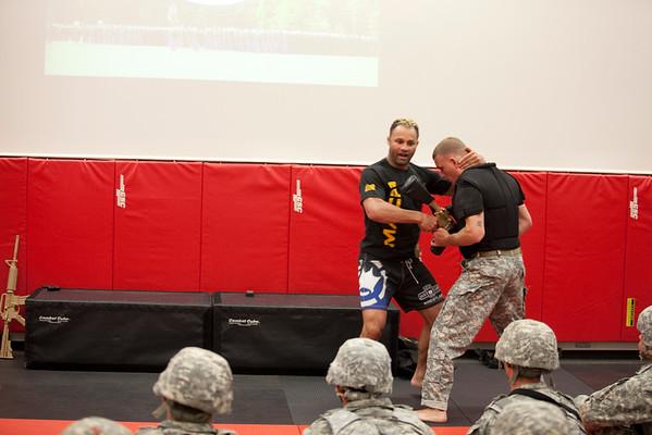 2015 05 12 Josh Koscheck visits 198th Fight House - Fort Benning Photos