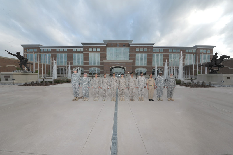 (FORT BENNING, Ga) Group photo with Royal Saudi Land Forces April 04, 2015 at McGinnis-Wickam Hall