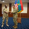 (FORT BENNING, Ga) Nigerian Delegation Visit. (Patrick A. Albright/MCoE PAO Photographer)