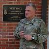 U.S. Army Chief of Staff Gen Mark A. Milley speaks to OCS
