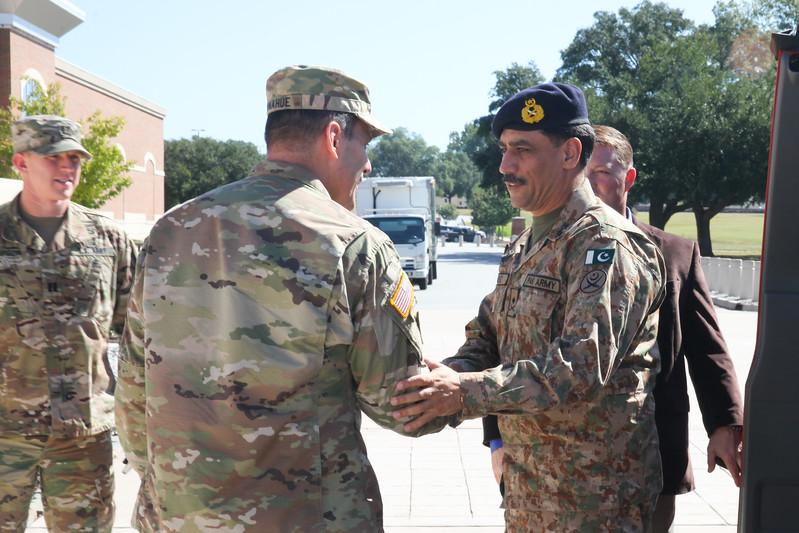 Major General Abid Rafique, Pakistan Army visit