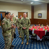 Lunch and gift exchange IHO Brigadier General Mingiardi (Italy)
