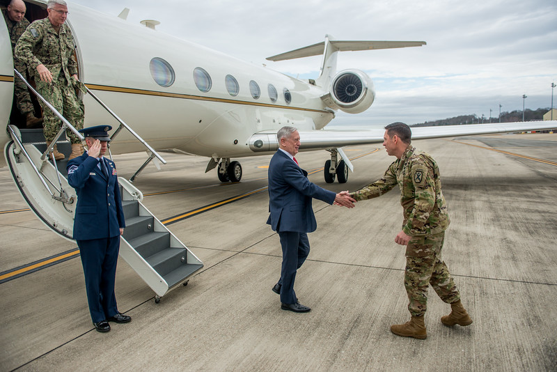 The Honorable James Mattis Visit