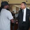 Mr. Marshall Williams visits Fort Benning