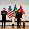 Promotion Ceremony from Major to Lieutenant Colonel for Lt. Col Joseph W. Ruzicka