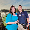 03 MAR 2011 - MCoE Fort Benning Public Affairs (Jenn Gunn and John Helms) at the Fort Benning Senior Leader Off-Site development social, sponsored by W.C. Bradley Company at the Eagle & Phenix Mills, downtown Columbus, GA.  Photo by COL Koji Nishimura (Commander, Martin Army Hospital)