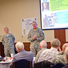 08 SEPT 2011 (FORT BENNING, GA) - Active and retired military leaders gather for the annual Maneuver Board at McGinnis-Wickam Hall. Photo by Kristian Ogden.