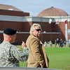04 NOV 2010 - MCoE Change of Command Ceremony; MG Ferriter to MG Brown.  National Infantry Museum Parade Field, Fort Benning, GA.  Photo by CW2 Jessica S. Kinsey
