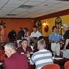 On April 26, the MCoE Command Team hails and farewells key personnel in a night of tradition and fellowship at El Zapata restaurant on Main Post.Photo by 2LT Duncan Michel, 316 CAV BDE
