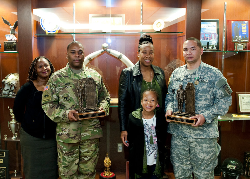 Active Component and Reserve Component Career Counselor of the Year Awards presentation.