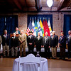 (FORT BENNING, Ga) Army personnel, civilians, and guests attend the Maneuver Conference Dinner in conjunction with the Doughboy and Gold Medallion Award Ceremony Wednesday, September 19, 2012 at the RiverMill Event Centre in Columbus, Ga. (Photo by: Patrick A. Albright/MCoE PAO Photographer)