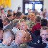 (FORT BENNING, Ga,) Army personnel, civilians, vendors and guests attend an Icebreaker Reception during the annual Maneuver Conference, Monday, September 09, 2013 at the Benning Club. (Photo by: Patrick A. Albright/MCoE PAO Photographer)
