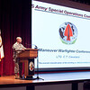 (FORT BENNING, Ga,) Multiple speakers took the stage on the final days of The Annual Maneuver Conference, Thursday, September 12 and Friday, September 13, 2013 At McGinnis-Wickam Hall.   (Photo by: Patrick A. Albright/MCoE PAO Photographer)