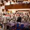 (FORT BENNING, Ga,) Army personnel, civilians, vendors and guests attend day one of the Maneuver Conference, Tuesday, September 10, 2013 in Marshall Auditorium. (Photo by: Patrick A. Albright/MCoE PAO Photographer)