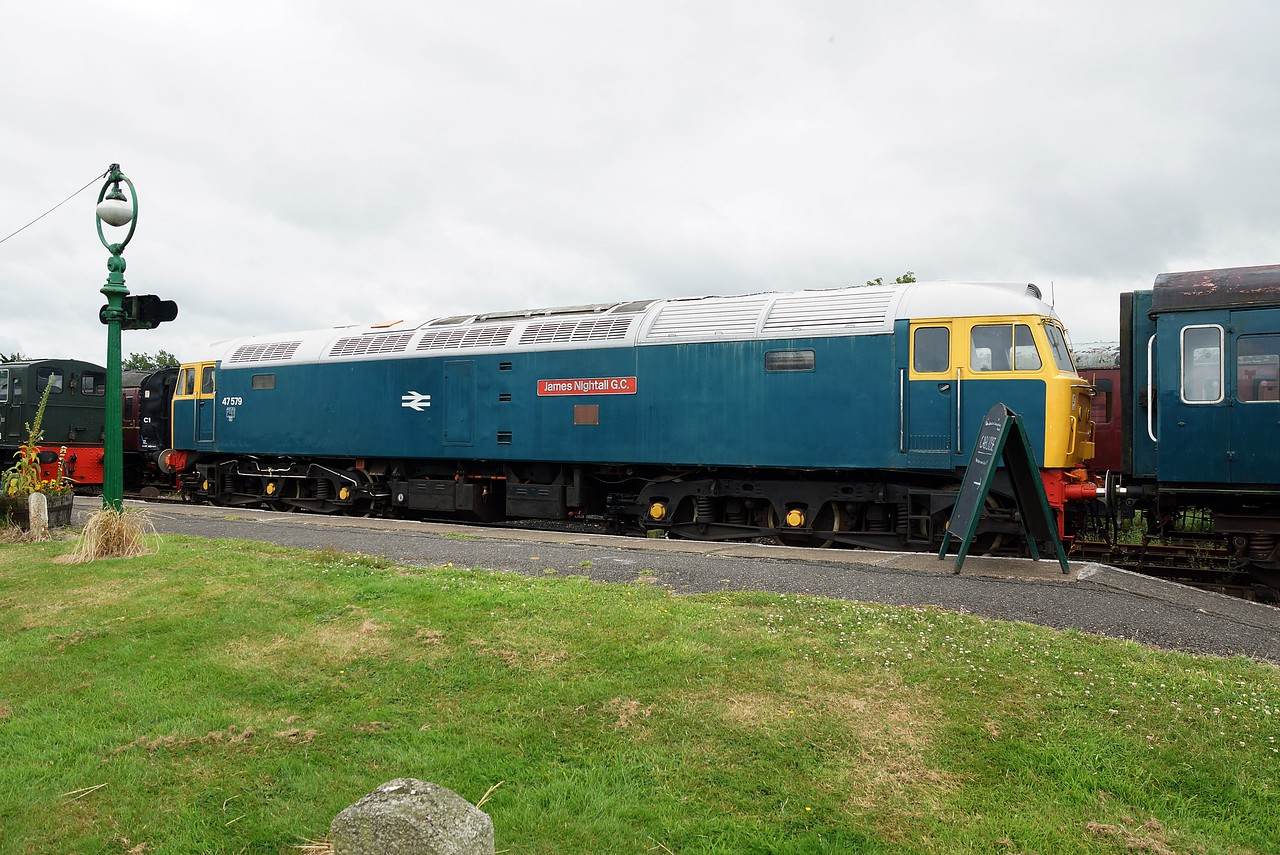 BR 47579 'James Nightall G.C' BT Co-CoDE 10,07,2016