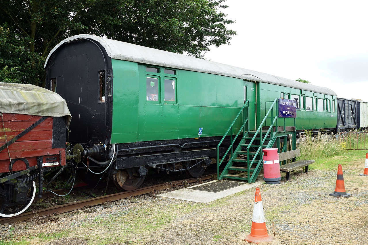 LSWR 1282 'Ironclad' Brake Third Corridor 10,07,2016