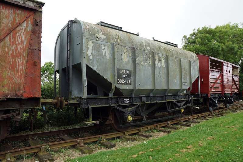 BR 885463 Covered Grain Hopper 10,07,2016