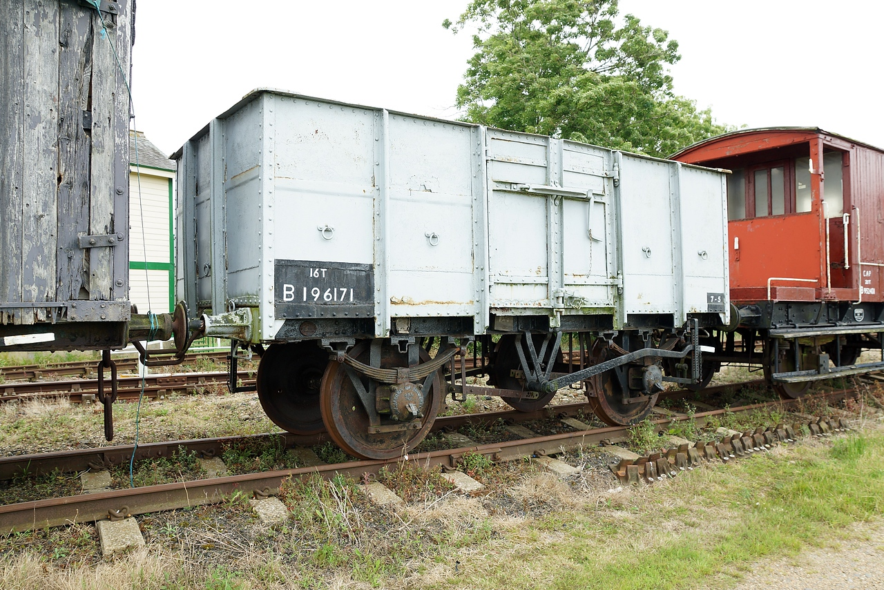 SNCF 196171 Steel Mineral Wagon 10,07,2016