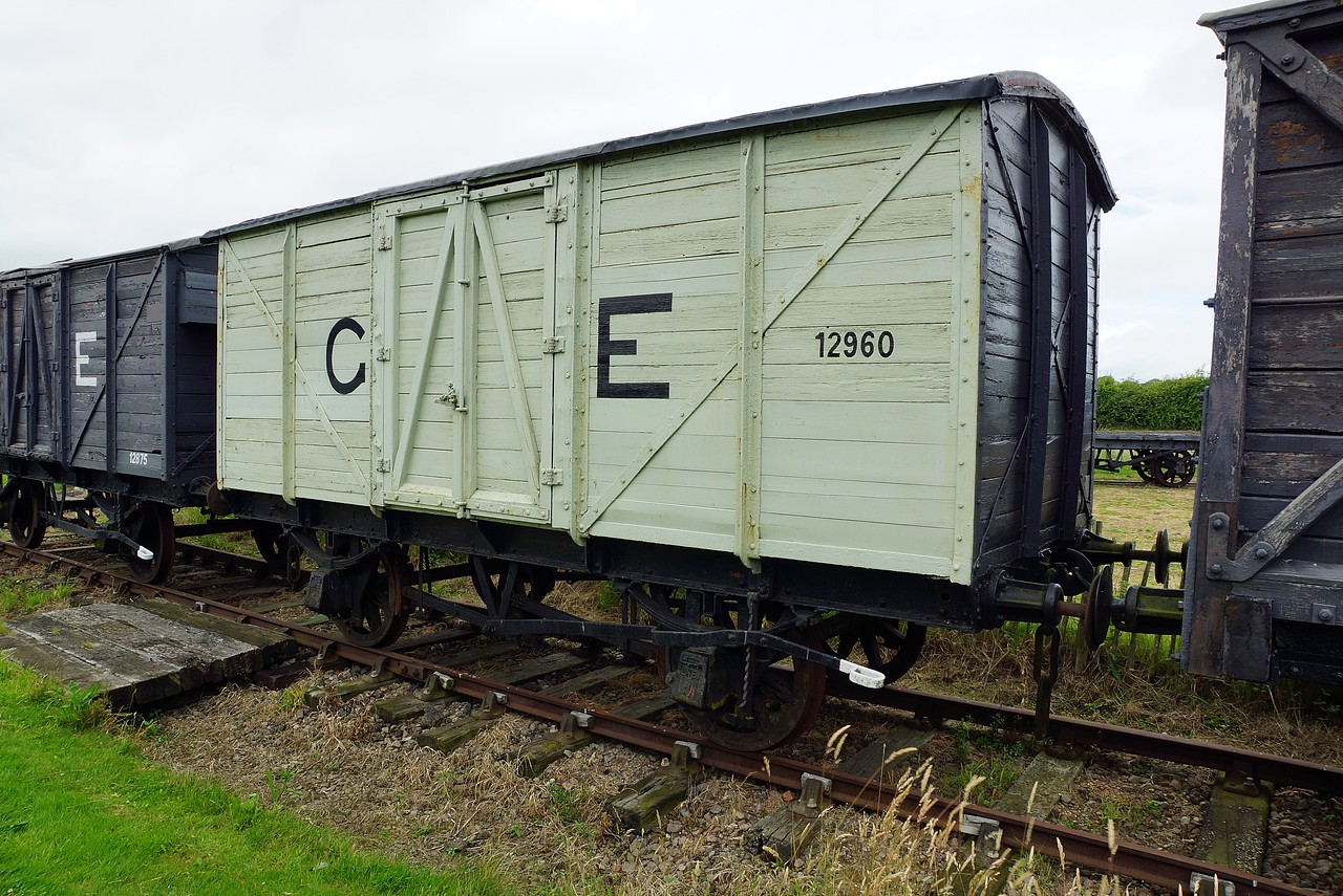 GER 612902 Non Ventilated Van 10,07,2016 (12960 Fictitous I hope worked all other wagons out and 612902 was left any info appreciated)