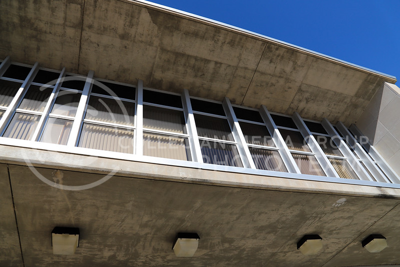 The architecture of Weber Hall. (Monica Melber | Collegian Media Group)