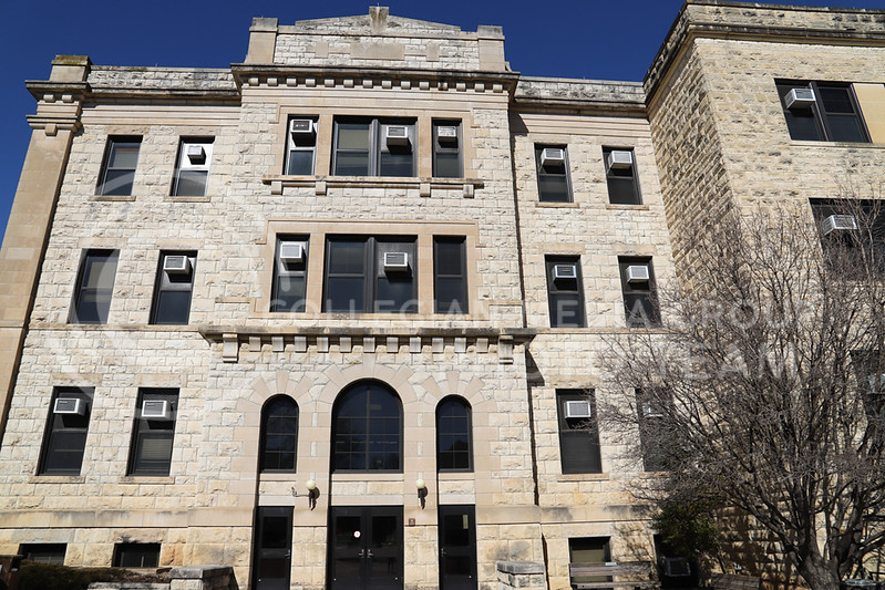 An extension of Waters Hall. (Monica Melber | Collegian Media Group)