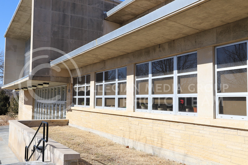 A side profile of Weber Hall. (Monica Melber | Collegian Media Group)