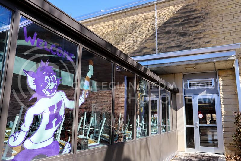 Call Hall's ice cream window display. (Monica Melber | Collegian Media Group)