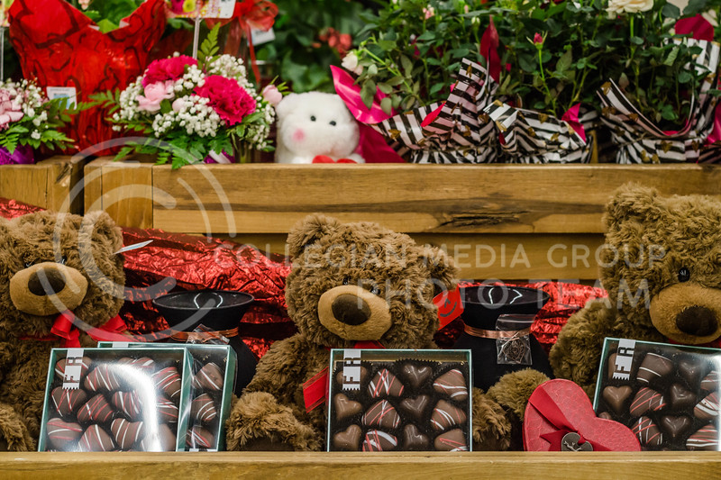 "Treat your best friend to chocolates and a teddy bear for ""Galentine's Day"".  (Mary Kate Zach 