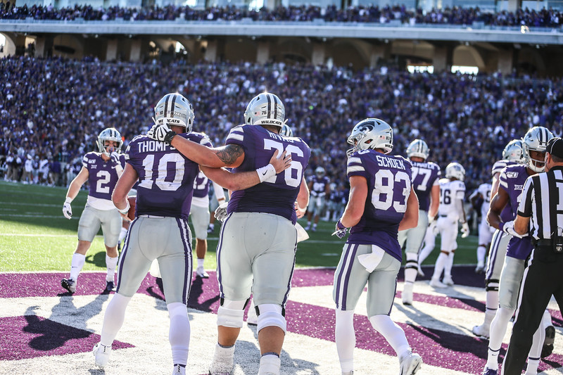 K-State takes on TCU at Bill Snyder Family Stadium on Oct. 19, 2019. The Wildcats won 24-17. (Emily Lenk | Collegian Media Group)