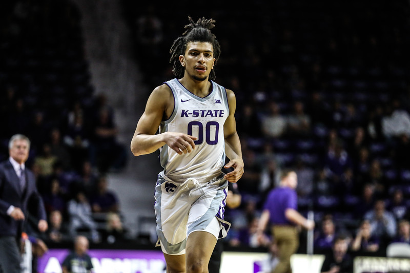 K-State's basketball team takes on Emporia State in Bramlage Coliseum on Oct. 25, 2019. The Wildcats beat the Hornets 86-49. (Emily Lenk | Collegian Media Group)