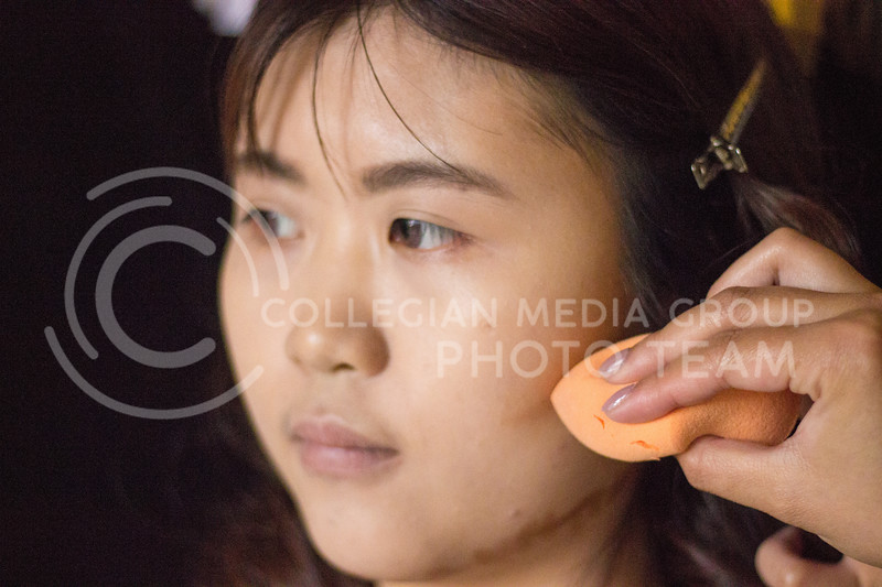Face focused New Years Eve look on November 10th,2017. (Kelly Pham | Collegian Media Group)