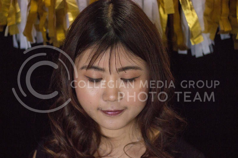 Face focused New Years Eve final look on November 10th,2017. (Kelly Pham | Collegian Media Group)