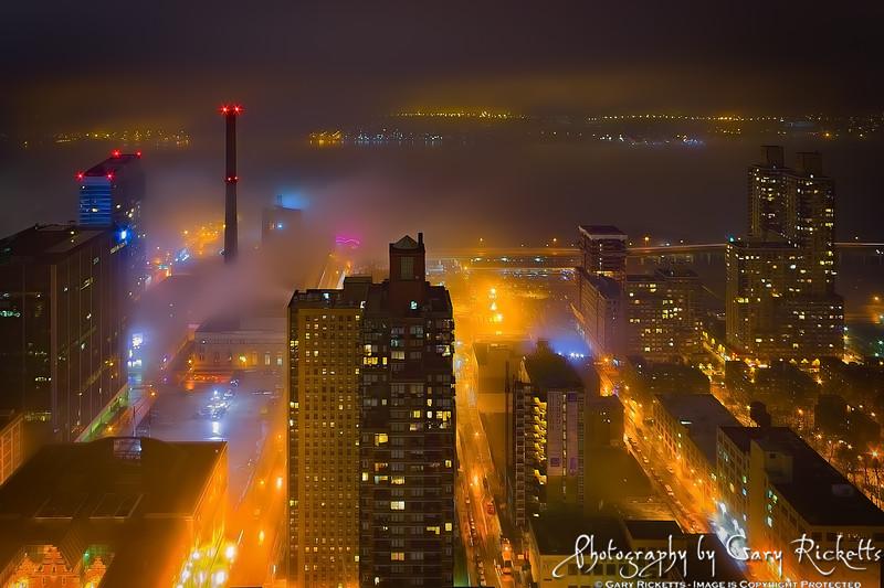 Yellow Fog—New York City