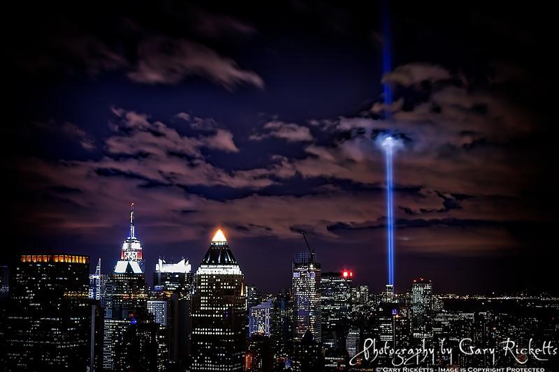 Always Remember--911 Memorial Lights
