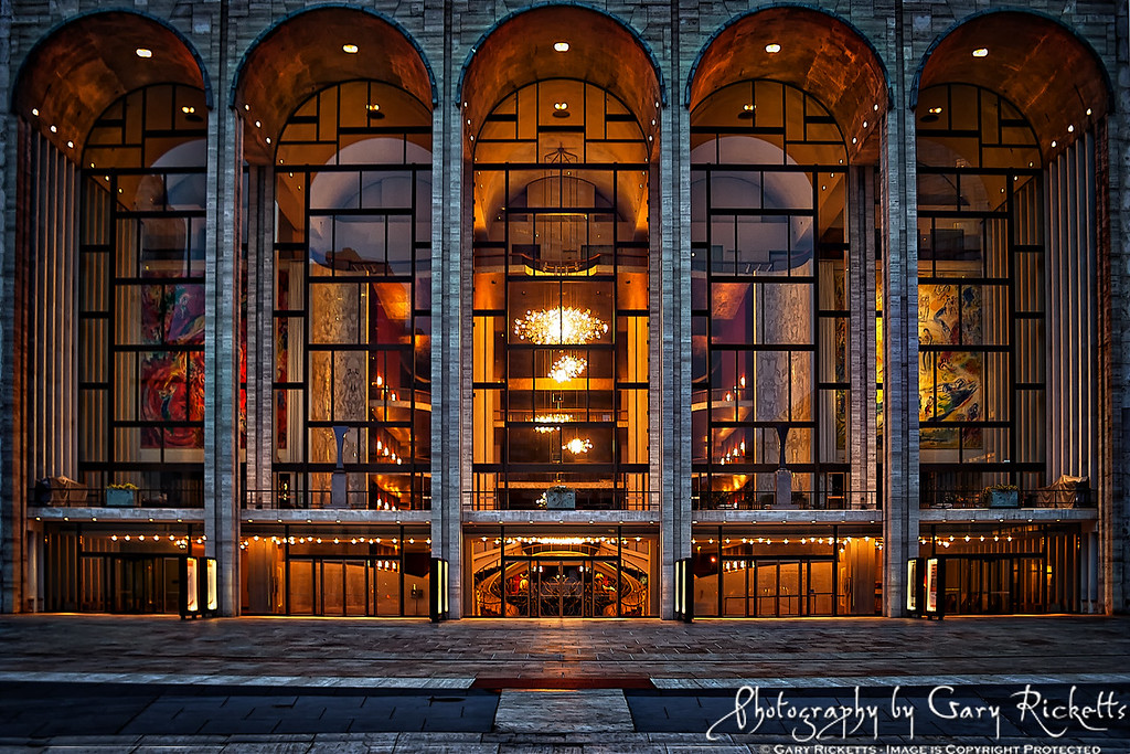 Nighttime At Lincoln Center
