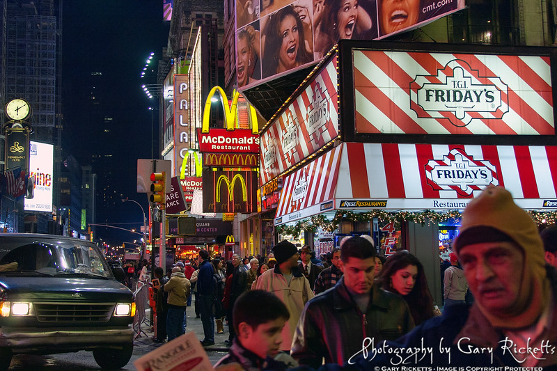 Times Square—New York City Third Place 2013