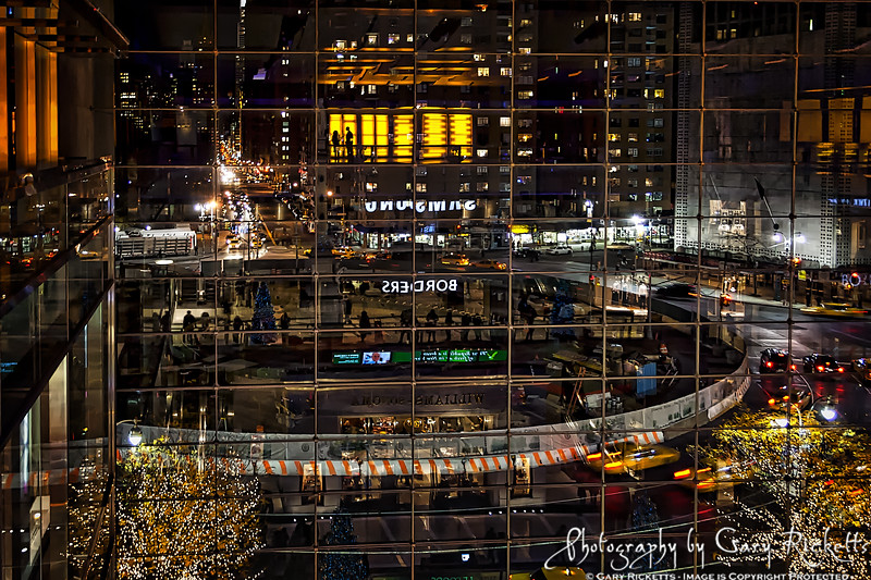 Columbus Circle From Inside