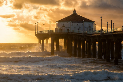 After the Storm, Manhattan Beach Pier