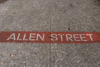 Allen Street Marker