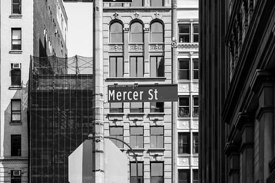 Mercer Street Tetris