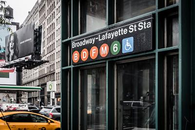 Broadway - Lafayette St Station