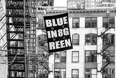 Blue In 8 Green