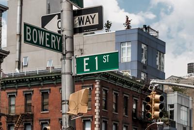 Bowery & 1st