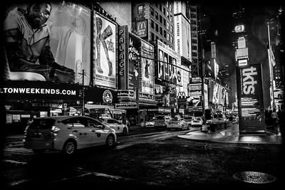 Rainy Times Square
