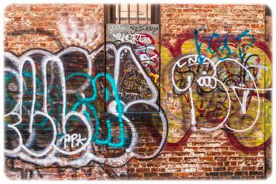 Mechanics Alley Graffiti