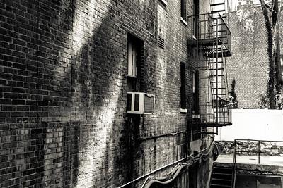 Darkened Alleyway