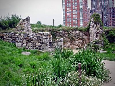 Irish Hunger Memorial in New York City