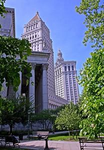 New York Court Houses and Manhattan Bourough Hall