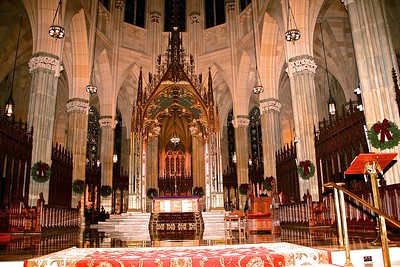 The Baldachin over the High Altar of St. Patrick's Cathedral