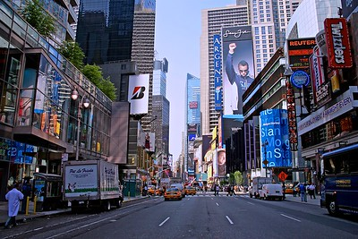 Seventh Avenue Looking Toward Times Square